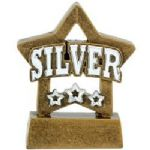 00 Silver Mini Star Award
